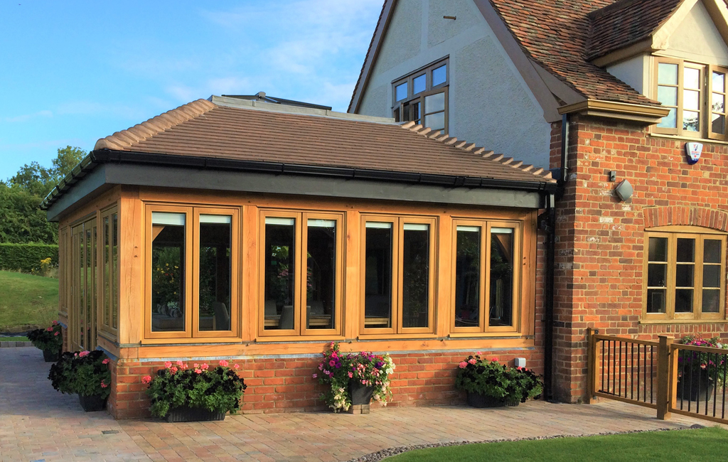 Garden Rooms - Timber Windows from Brookeswood Joinery